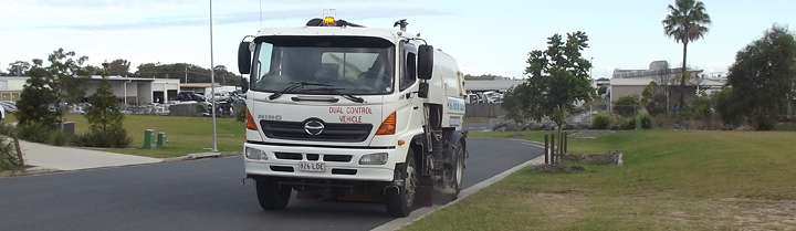 road sweeper truck hire street sweeping trucks